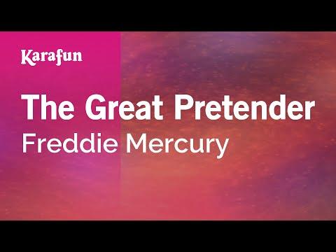 Karaoke The Great Pretender - Freddie Mercury *