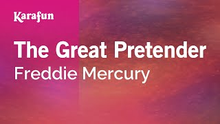 Karaoke The Great Pretender - Freddie Mercury *