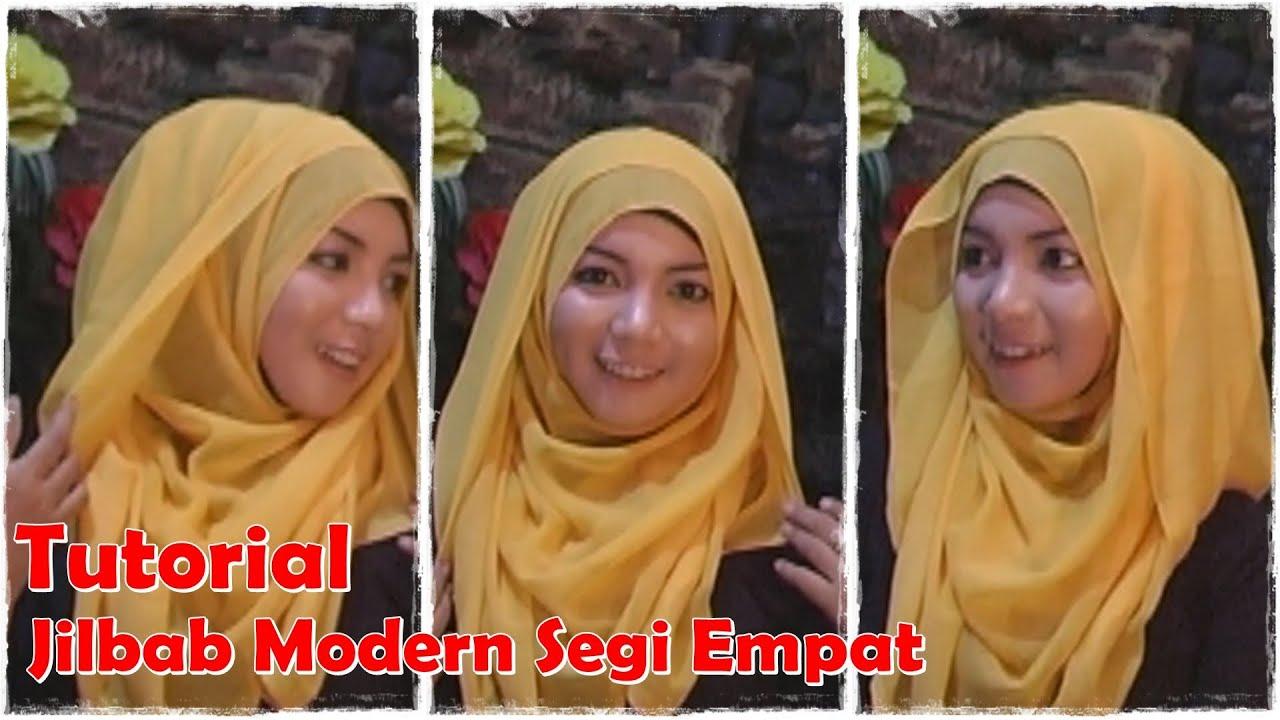 Video Cara Memakai Jilbab Segi Empat Modern By Revi YouTube