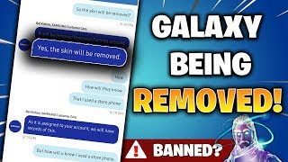 SAMSUNG Are REMOVING ALL GALAXY SKINS! (Fortnite News and Information)