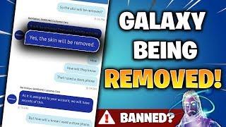 SAMSUNG sont REMOVING ALL GALAXY SKINS! (Fortnite Nouvelles et Informations)