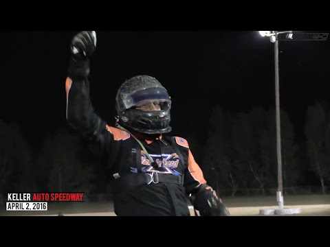 Highlights: USAC West Coast 360s at Keller Auto Speedway - April 2, 2016