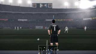 PES 2010 - PC Gameplay - Real Madrid vs. Barcelona