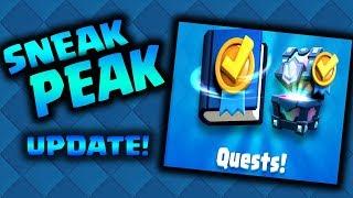 Clash Royale - QUESTS! New Update Sneak Peek
