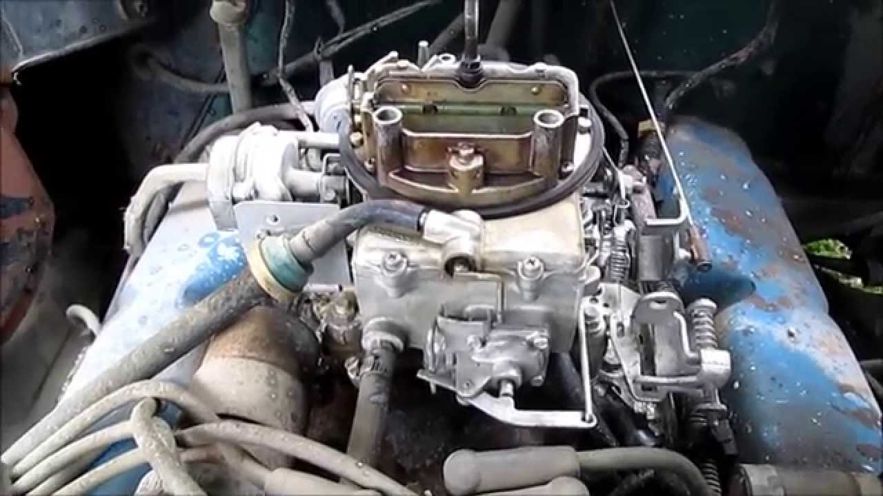 302 Ford Carb Repair  YouTube