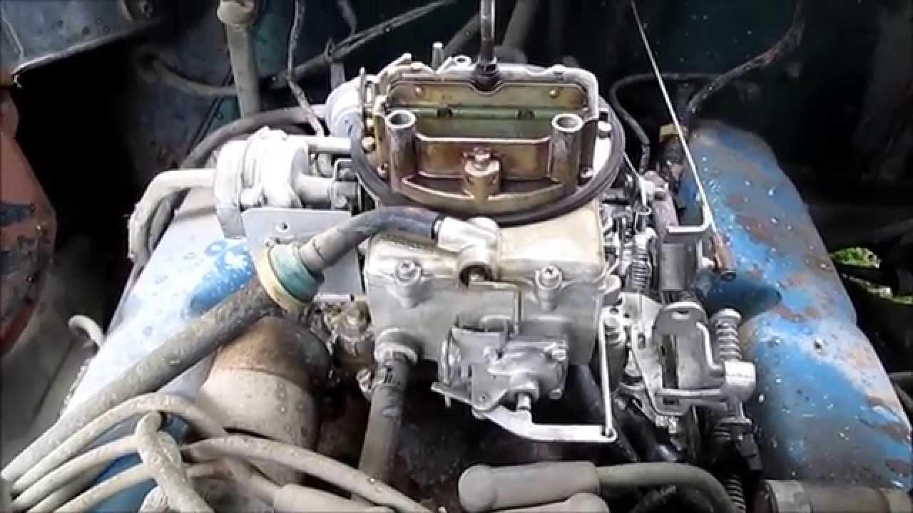 302 ford carb repair [ 1280 x 720 Pixel ]