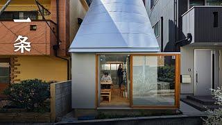 東京市中心18㎡的夫妻之家 The 18㎡ House Of A Japanese Couple In The Heart Of Tokyo