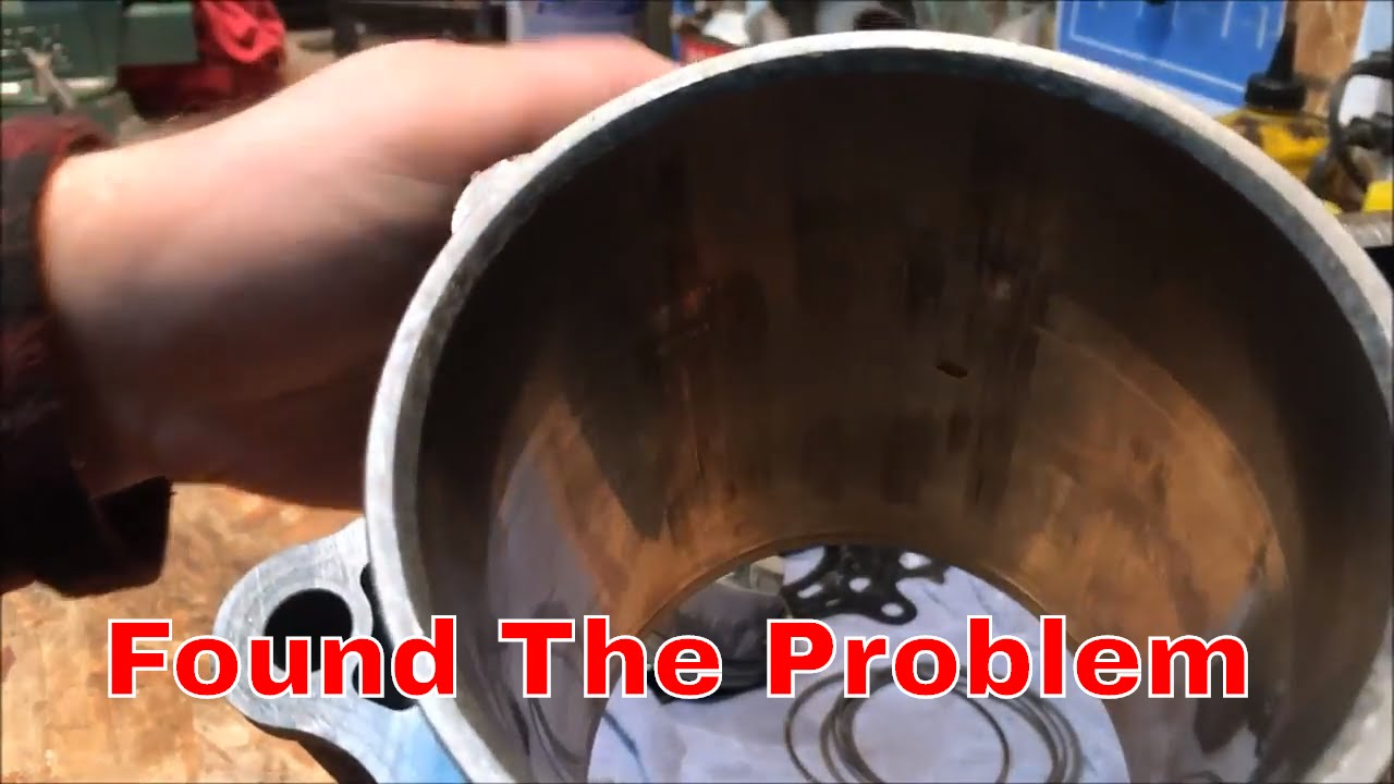 king quad motor problems | cylinder bore needed - youtube