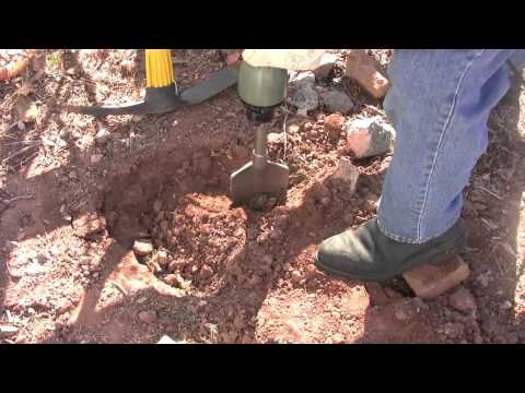 Rocky, Clay Soil? A Jackhammer Makes for Faster Planting