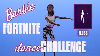 Zahnseide - Barbie Fortnite-Dance-Challenge - Stop-Motion-Animation - AA-Yoga MTM Doll