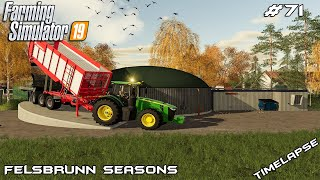 Building BGA & new bale storage | Animals on Felsbrunn Seasons | Farming Simulator 19 | Episode 71