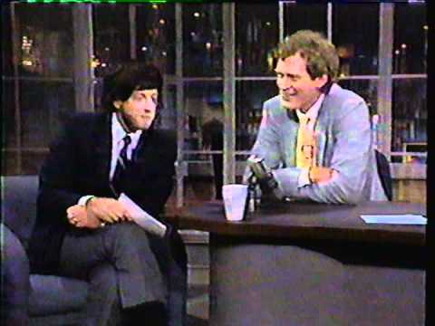CHRIS ELLIOTT Marv Albert HILARIOUS 1980's  Late Night with David Letterman NBC