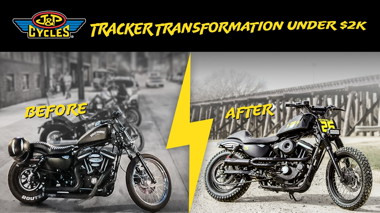 How to Build a Harley Sportster Tracker on a $2,000 Budget