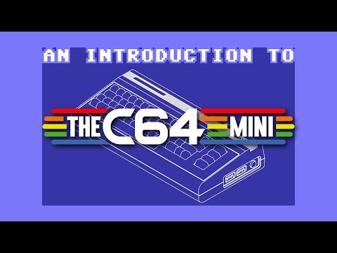 Commodore 64 Mini Retro PC Legacy Games Console CBM64 with Joystick