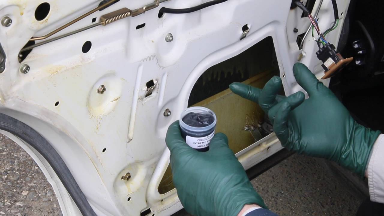 How To Lubricate Window Mechanisms