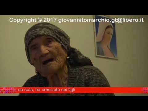 SIDERNO (RC ) NONNA CATUZZA 102 ANNI TRA SANTI E MADONNE   DI GIOVANNI TOMARCHIO  2 DA 2