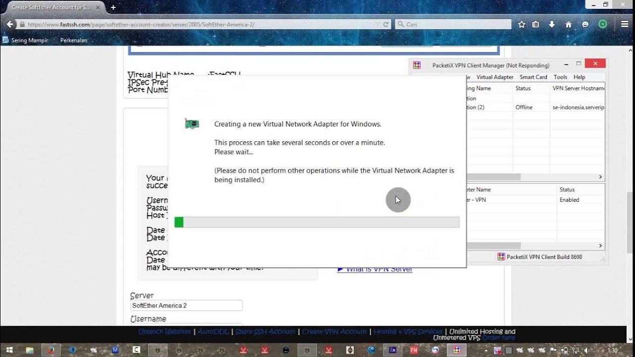 tutorial SSH + VPN SOFTETHER CLIENT MANAGER1 jms26