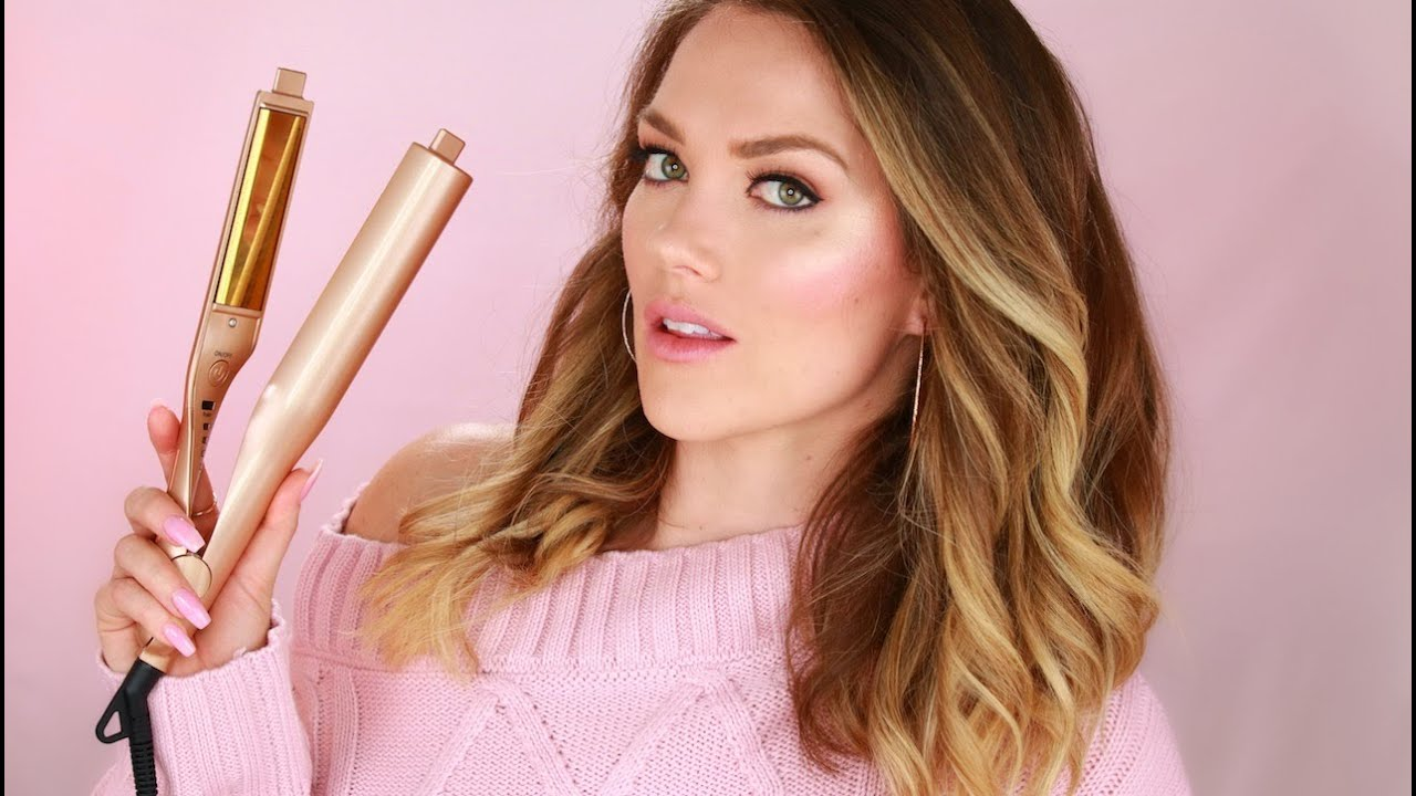 HOW TO CURL YOUR HAIR WITH A TWIST IRON STRAIGHTENER