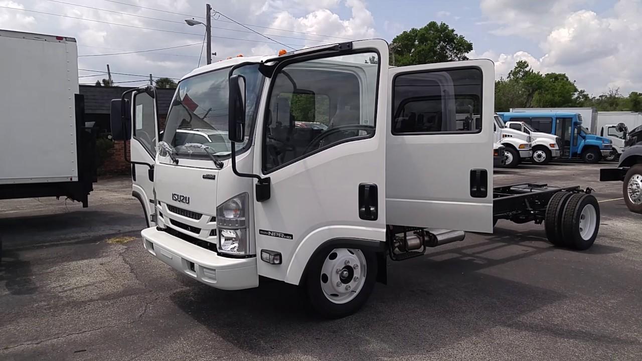 Commercial trucks 2017 isuzu npr hd walk around video call today 1 888 454 1915 ask for william deland truck center