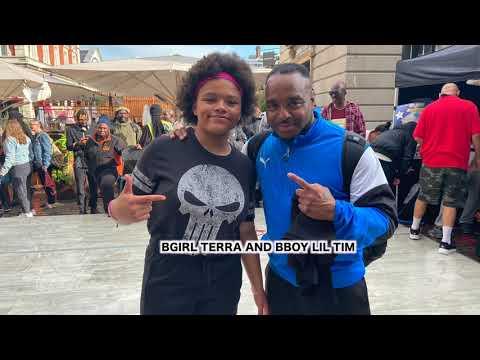 Download King and Queen of The Cobblestones Bgirl Terra & Bboy Lil Tim vs Grillz & Cristie Semi Final