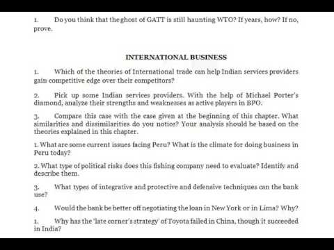 why did arvind mills choose globalization as the major route to achieve growth when the domestic mar Institute of management technology centre for distance learning a16, site 3, upsidc industrial area, meerut road, ghaziabad - 201 003 subject code: imt-56.