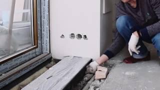 видео Установка внутрипольного конвектора