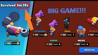 TICK Invincible in BIG GAME!!! Survived 3m 19s!!!