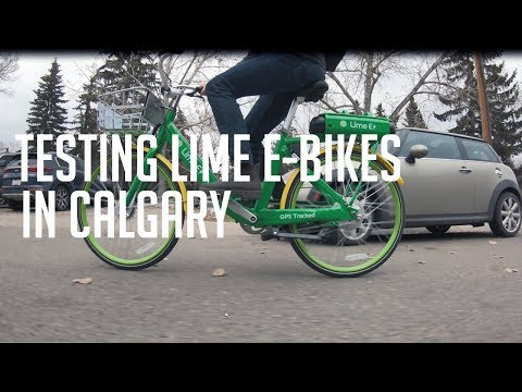 How Lime bikes work | Two things holding them back in Calgary