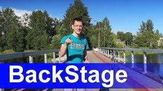 BackStage и 50к подписчиков.