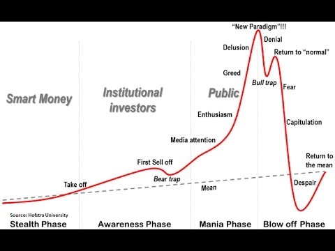 Asset Bubbles and the Economy, Asset Bubble Stages & Tech Bubbles [One Minute Answers]