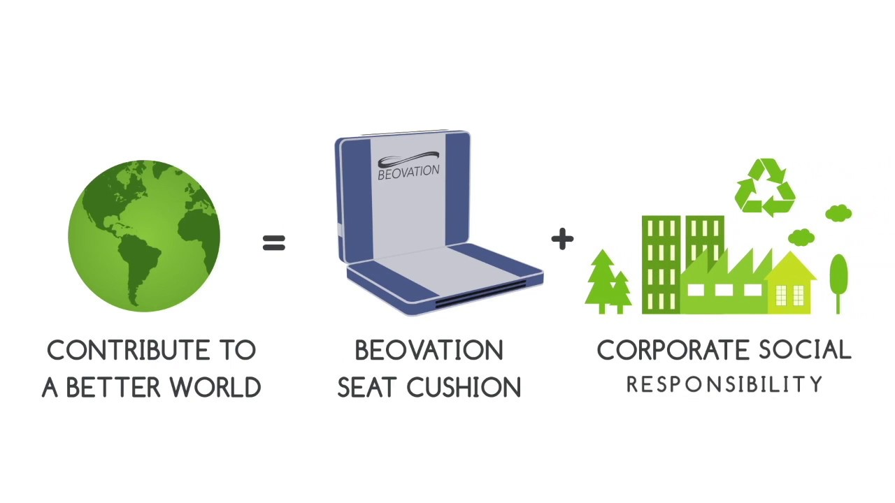 Beovation's Heated and Cooled Seat Cushion
