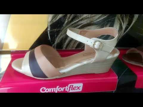 3ec8e068da Sandalia Anabela Comfortflex Esporão. Duda Paixão Calçados