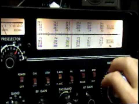 Drake 2-B Ham Radio Tube Receiver AM CW SSB Vintage