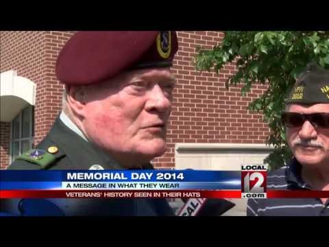 Veteran History Seen In Their Hats