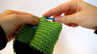How to crochet standing legs in amigurumi