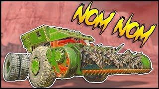 Crossout - Tiny Vehicles? Epic Dual Scorpion Build & Fast Harvester Build - Crossout Gameplay