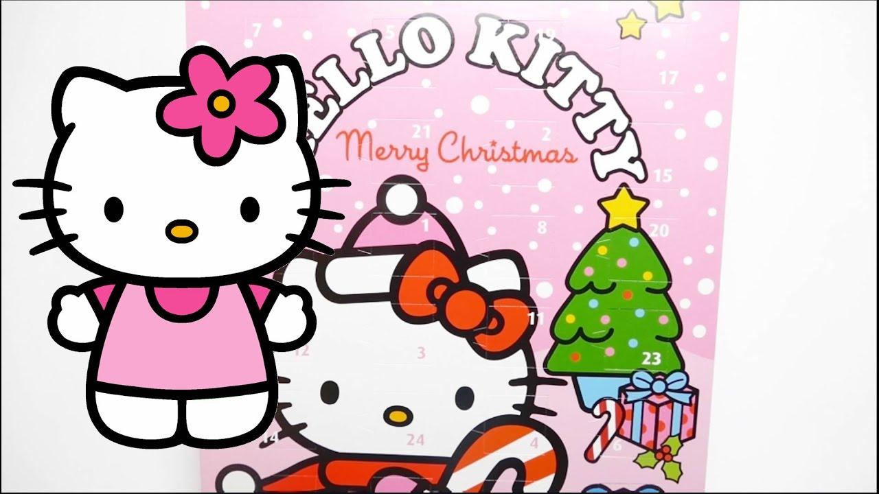 Hello Kitty Christmas.Hello Kitty Merry Christmas Chocolate Advent Calendar 2017