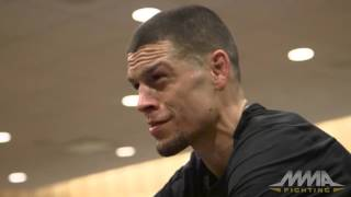 Nate Diaz UFC on FOX 17 fan Q&A