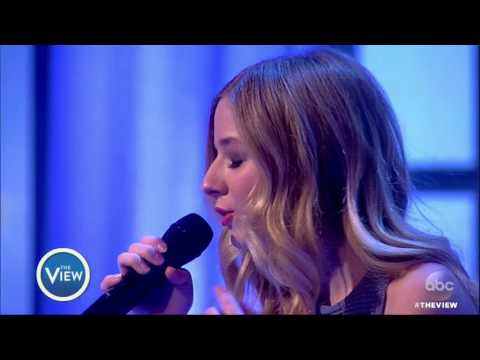 Jackie Evancho Performs Caruso From New Album Two Hearts The View