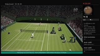 A.O. Tennis Wimbledon 2019 simple messieurs 1/2 finale