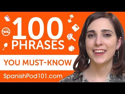 100 Phrases Every Spanish Beginner Must-Know