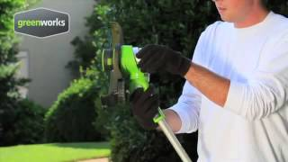 GreenWorks 24V Cordless Trimmer Edger