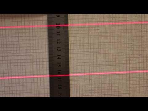 Проверка лазерного уровня DEKOPRO LL02 на точность
