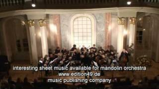 Vals Espagnole op. 57 flute mandolin orchestra Köhler Veronika Fuchs Ettlingen