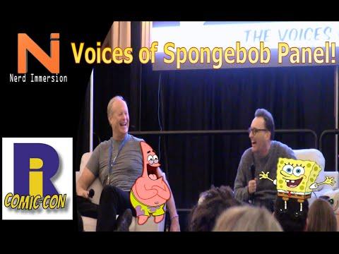 Spongebob Voice Actor Panel-Rhode Island Comic Con 2015   Nerd Immersion