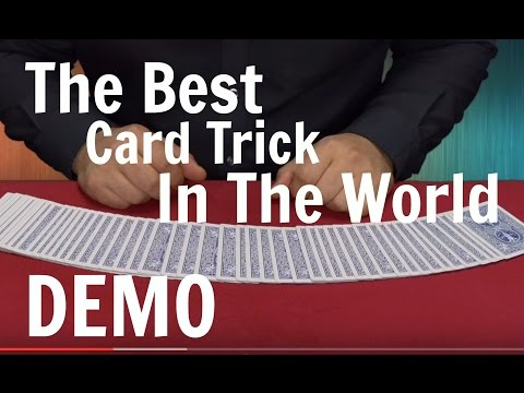 Thumbnail: The Best Card Trick in The World - Card Magic Tricks Revealed
