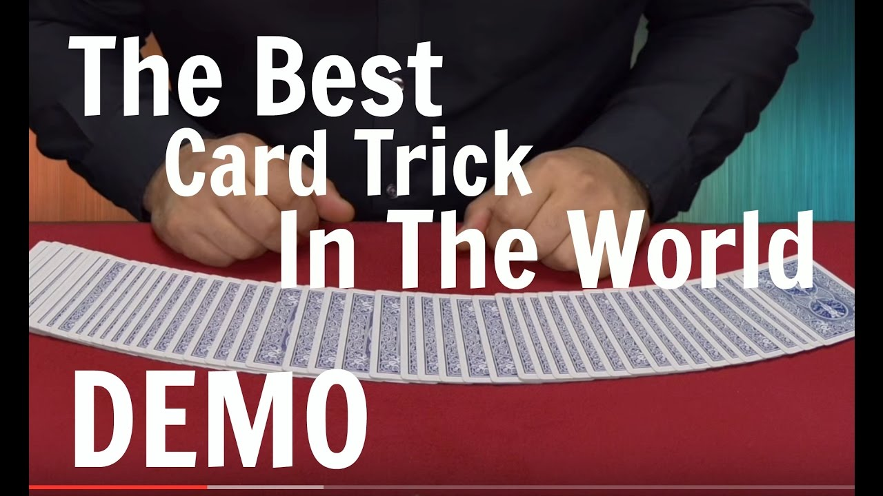 The Best Card Trick in The World - Card Magic Tricks Revealed