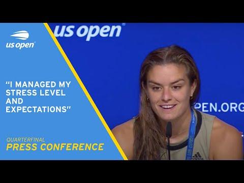 Download Maria Sakkari Press Conference | 2021 US Open Quarterfinal