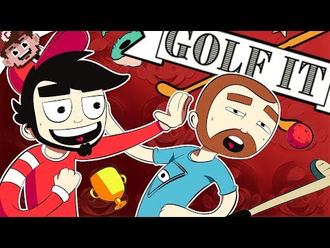 PLAY NICE NANNERS! | A Story of Golf Backstabbing (GOLF IT - Multiplayer)
