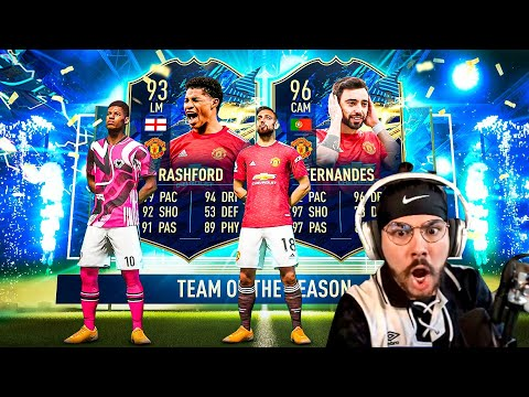 I packed TOTS Rashford & TOTS Bruno in the same pack opening!